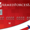 Visa Card of Armed Forces Bank in Tacoma, Washington State