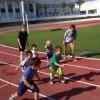 Children Running in Rota, Spain