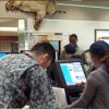 Two Season Dining Facility Counter in Eielson, Alaska