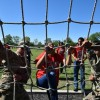 Rope Course Challenge in Texas, Fort Hood