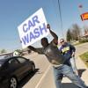 Car Wash Sign in Illinois, Scott AFB