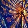Nettuno Park Ferris Wheel in Catania, Italy
