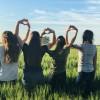 Teens at Wheat Field in El Paso, Texas