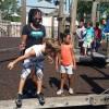 Children in Park in Jacksonville, Florida