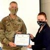 Agent receives the Customer Service award in Tacoma, Washington State