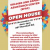 Soldier and Family Assistance Banner in El Paso, Texas
