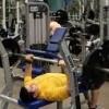 Gym-Dam Neck bench press