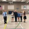 Evergreen Middle School Gym in Everett, Washington