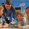 Manor Youth Center-NAS Oceana kids & robot
