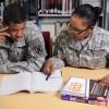 Army at the library in Wahiawa, Hawaii