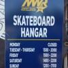 Skate Hangar Schedule in Pearl Harbor, Hawaii