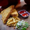 Sandwich and Fries in El Paso, Texas