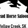 Dead Horse Saloon Logo in Eielson, Alaska
