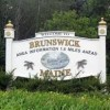 Naval Air Station Brunswick-sign