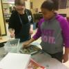 Youth Baking Cookies in El Paso, Texas