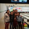 Group of Friends at Bowling in Tacoma, Washington State