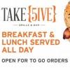Take 5ive Coffe and Sandwich in Coronado, Sandiego