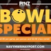 Bowling Special in Jacksonvile, Florida