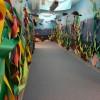 Crawford Elementary School Hallway in Eielson, Alaska