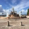San Juan Army National Guard-fountain