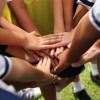 Youth Ready to Play a Game in Wahiawa, Hawaii