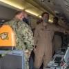 Deployed Forces- NSB Kings Bay inside the plane