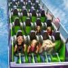 Roller Coaster in El Paso, Texas