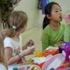 Kids Eating Lunch in El Paso, Texas