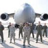 march air reserve base-servicemen