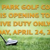 Golf Course Opening Banner in Kentucky, Fort Campbell