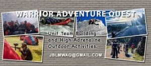 Warrior Adventure Quest Team Building Banner in Tacoma, Washington State