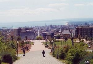 Park in Catania, Italy