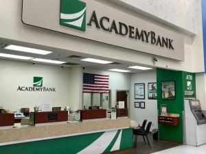 Academy Bank Counter in Bremerton Washington