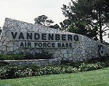 Vandenberg Air Force Base- sign