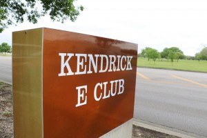 Kendrick Club Sign in Universal, Texas