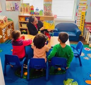 Teacher teaches a Book in Texas, San Antonio