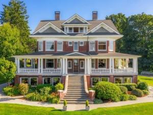 Rucker Mansion in Everett, Washington
