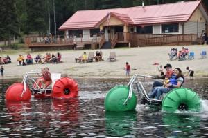 Birch Lake Activities in Eielson, Alaska