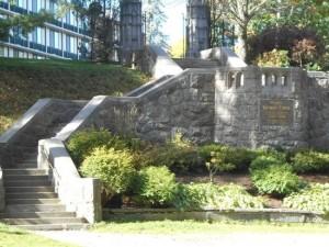 Katrina Trask Memorial Staircase- stairway