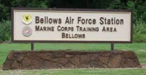 bellows air force station-signs