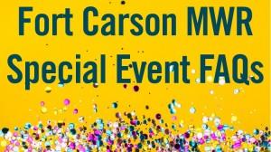 Fort Carson Special Event Banner in Colorado, Colorado Springs