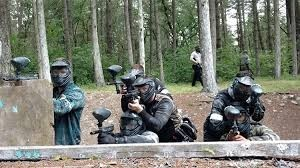 Paintball Game in Tacoma, Washington State