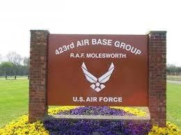 Royal Air Force Molesworth sign
