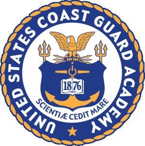 Coas Guard Academy Logo in New London, Connecticut