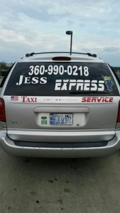 Jess Express Taxi Services- Bremerton-suv