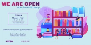Library Hours in Illinois, Scott AFB