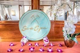 sea spa hawaii-sign