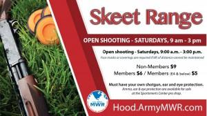 Skeet Range Opening Banner in Texas, Fort Hood