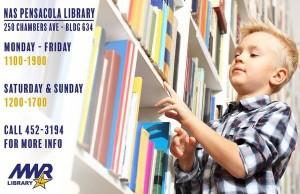 Pensacola Library in Florida