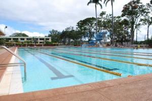 Aquatic Center in Wahiawa, Hawaii